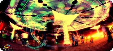 Malabares de Luz - Magnetronic 2011